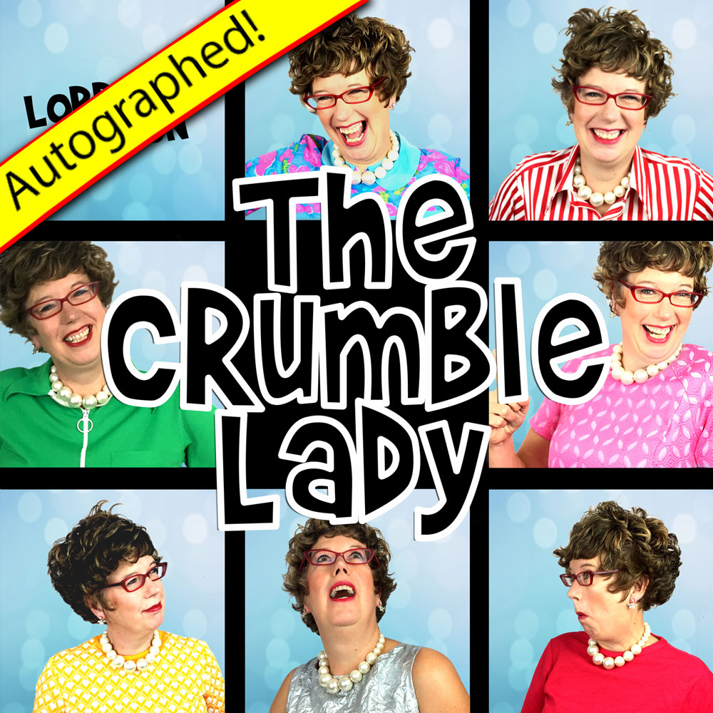 The Crumble Lady CD (2016) – Autographed!