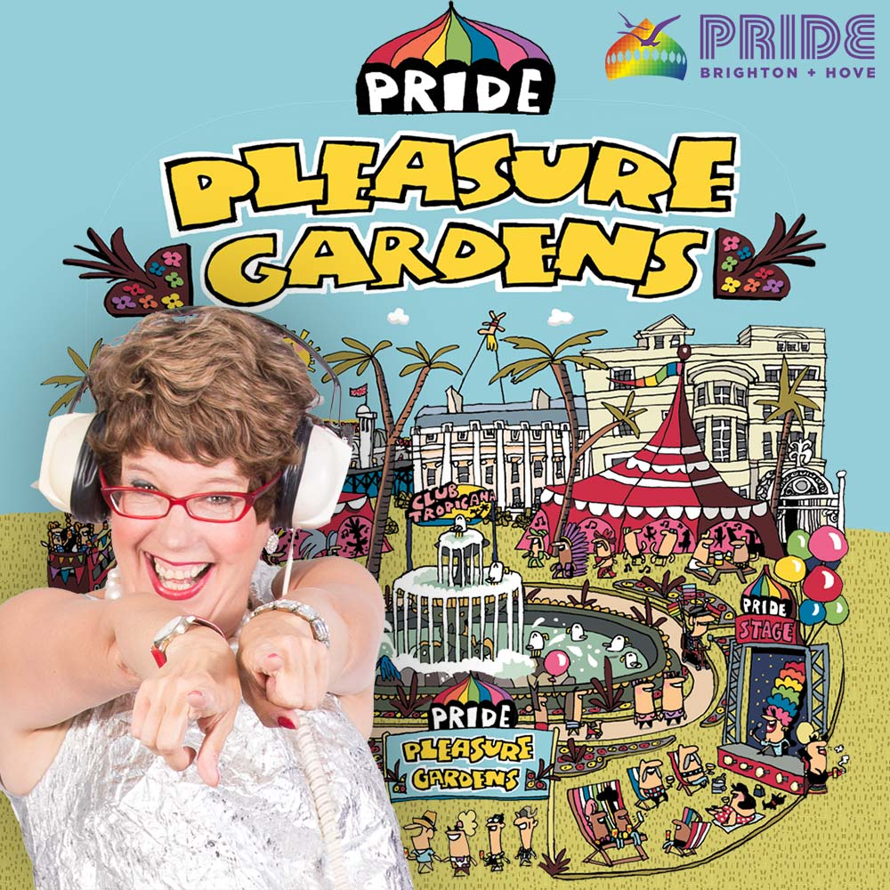 Lorraine Bowen @ Brighton Pride