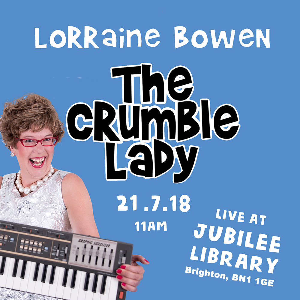 The Crumble Lady – Live at Jubilee Library