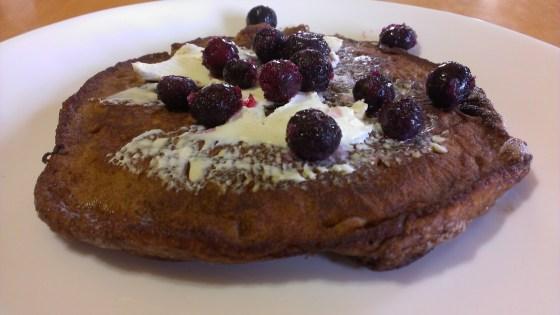 Gluten Free Coconut Flour Pumpkin Pancakes
