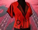 Red Crop Vest