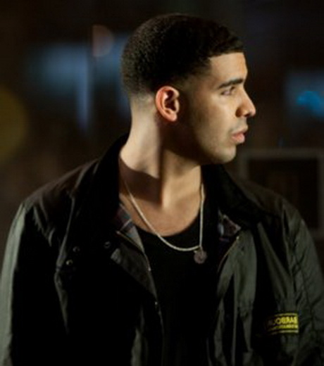 Drake Hairstyle Short Afro Part Shape Up