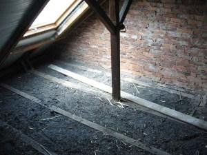 Dachboden ohne Boden