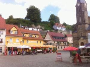 Zwischenstop in Stadt Wehlen