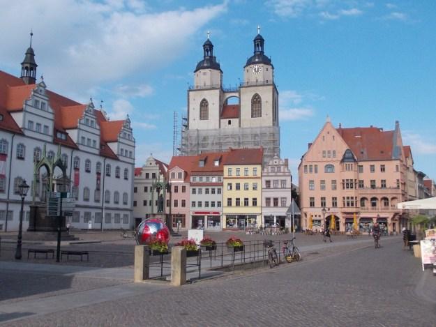 Marktplatz Wittenberg…