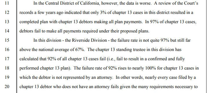 Judge Johnson Chapter 13 bankruptcy research