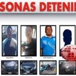 DETIENEN A OCHO PERSONAS EN POSESIÓN DE VEHÍCULOS CON REPORTE DE ROBO EN PUEBLA