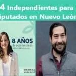 4 PRE CANDIDATOS INDEPENDIENTES A DIPUTADOS ESTATALES DE NUEVO LEON ELCCIONES 2021