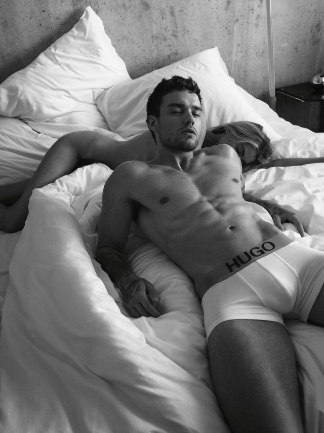 Liam Payne posa en ropa interior y muy sexy para la nueva campaña de HUGO