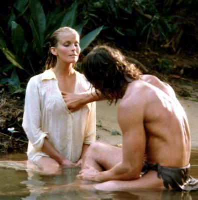 TARZAN, THE APE MAN, Bo Derek, Miles O'Keeffe, 1981, (c) MGM
