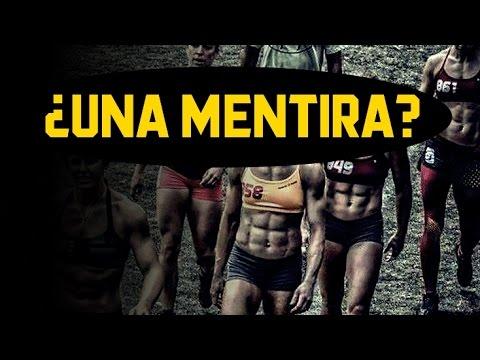 Vendiendo una falsa imagen fitness y deportiva