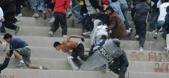 Violencia y futbol ¿Simbolos de una sociedad?