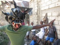 Traditional Haitian mask