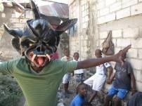 Traditional Haitian mask