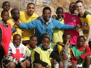 Pelé in South Africa