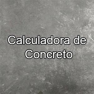 Calculadora de concreto