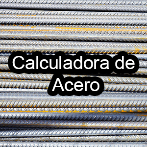 calculadora de Acero