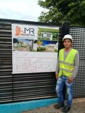 Roberto Ríos de albañil a arquitecto