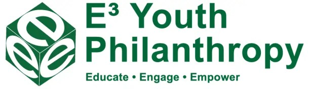 E3 Youth Philanthropy Logo