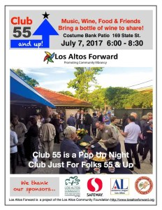 Club 55 and Up! July 7th