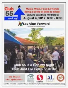 Join us for Club 55 and Up! August 4