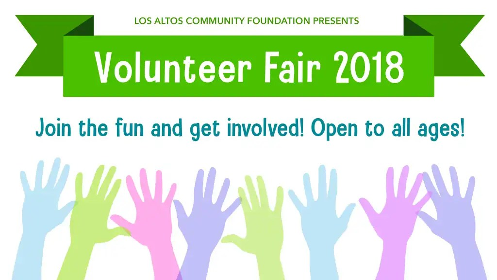 LACF Volunteer Fair Graphic