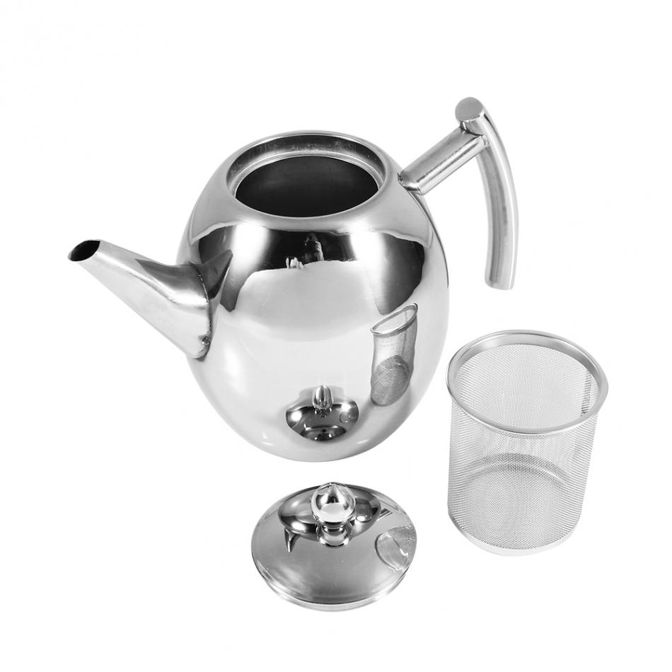 Durable Stainless Steel Pot | Los Altos Coffee