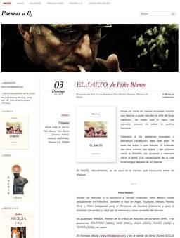 Poemas a o, - Libros de Félix Blanco