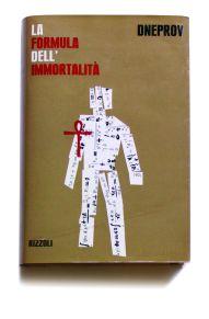 """Simonetta Ferrante, """"Sovraccoperta del volume La Formula dell'Immortalità"""", Edizioni Rizzoli, 1963"""