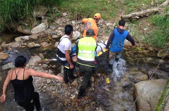 Hallan cuerpo sin vida en puente de Peña Colorada