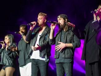 Pentatonix on stage at Ravinia