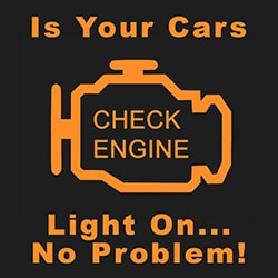 Cash for Cars with check engine light on
