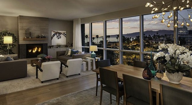 Apartments In Los Angeles Newly Completed Ocean Avenue South Luxury Development Related Marmol