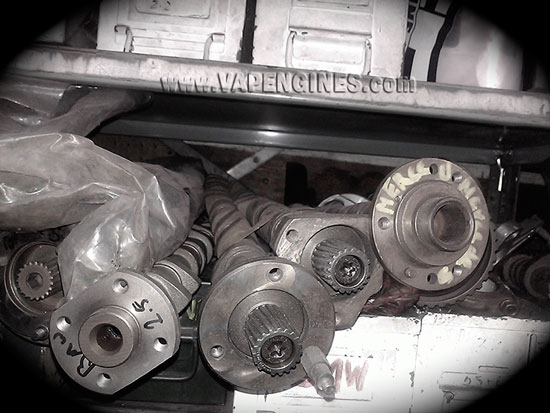 reground camshafts