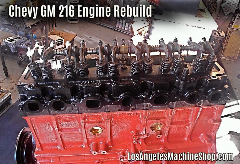 Cylinder head assembly on GM 216