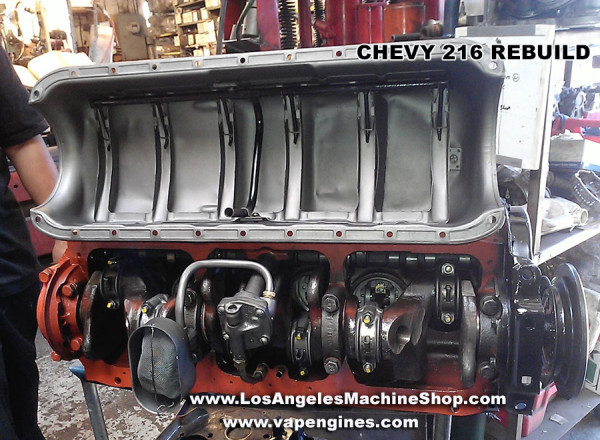 GM Chevy 216 engine rebuild