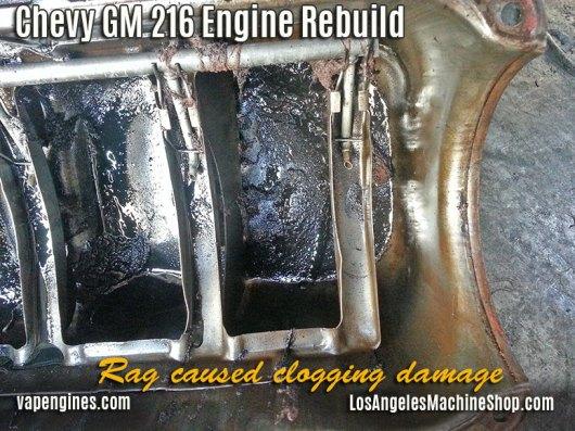 GM 216 clogged tubing