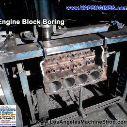 Bore engine block machine shop services