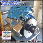 rebuilt chevy 350 marine engine