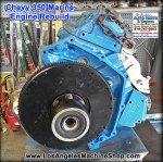 chevy 350 marine engine remanufactured