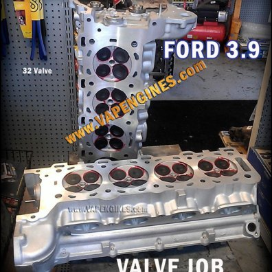 Ford 3.9 valve job-aluminum