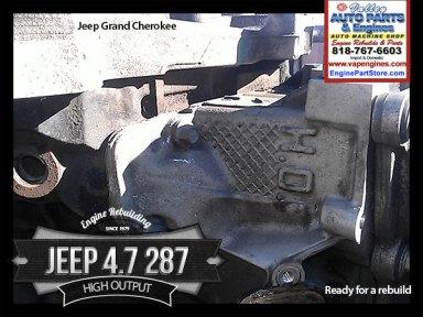 jeep 4.7 V8 high output engine