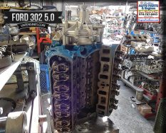 ford 302 5.0 remanufactured engine long block