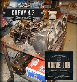 Chevy 4.3 before valve job