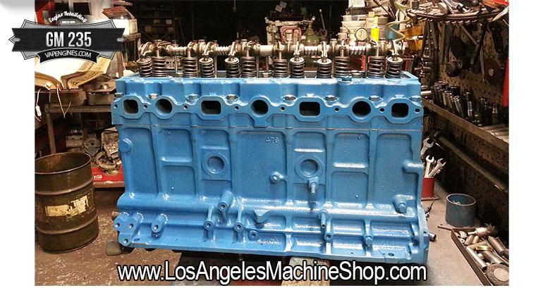 chevy GM 235 rebuilt engine shop