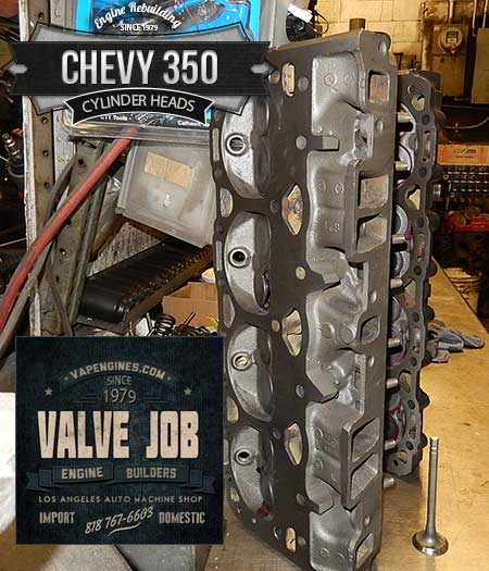 GM Chevy 350 5.7 cylinder head remanufacture