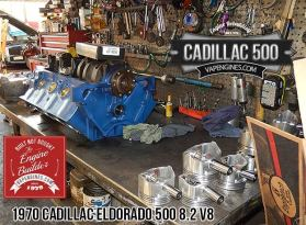 1970 Cadillac Eldorado rebuilding a short block