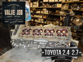 Toyota 2.4/2.7 8 port cylinder head bare