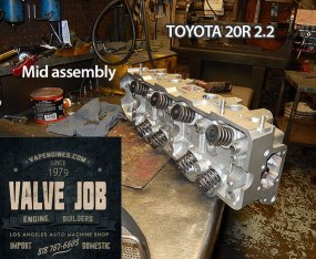 toyota 20r valve job