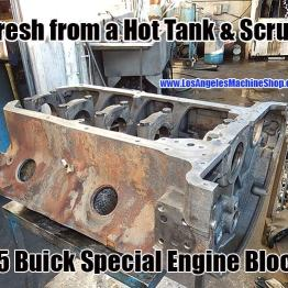 hot tanked buick special engine block